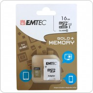 Micro Card de memorie SD 16 GB + adaptor