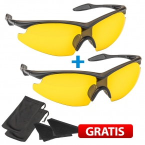 Tac Glasses Night Vision 1+1